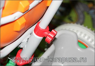 Сборка велосипед Family, шаг 11