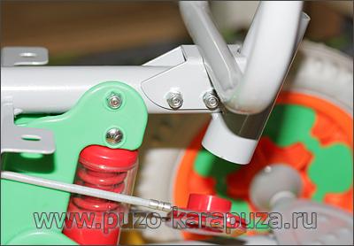Сборка велосипед Family, шаг 5